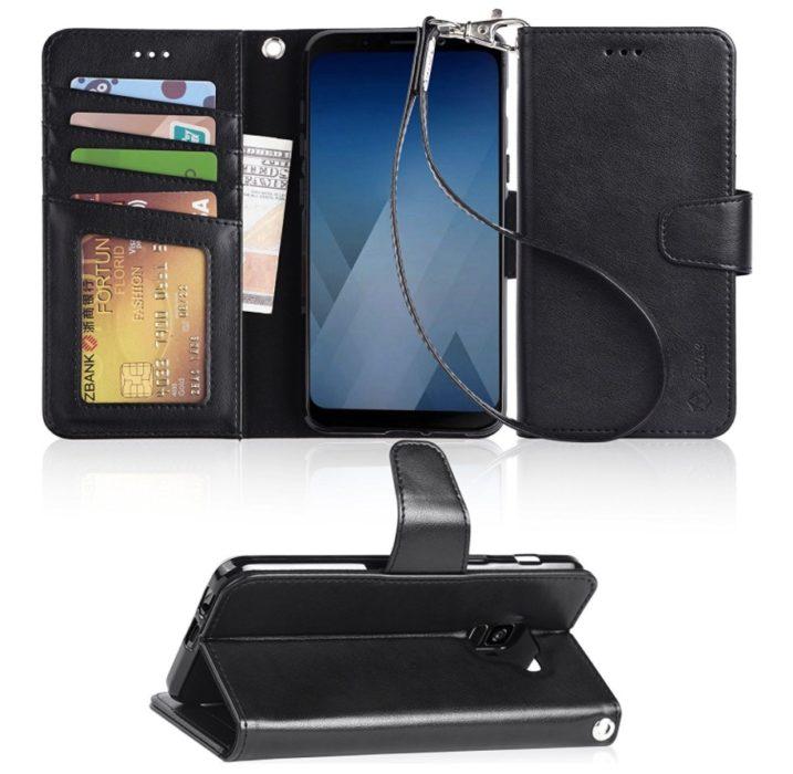 Arae Folio Leather Wallet Case ($13)