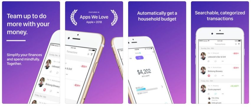Honeyfi Budget App for Couples