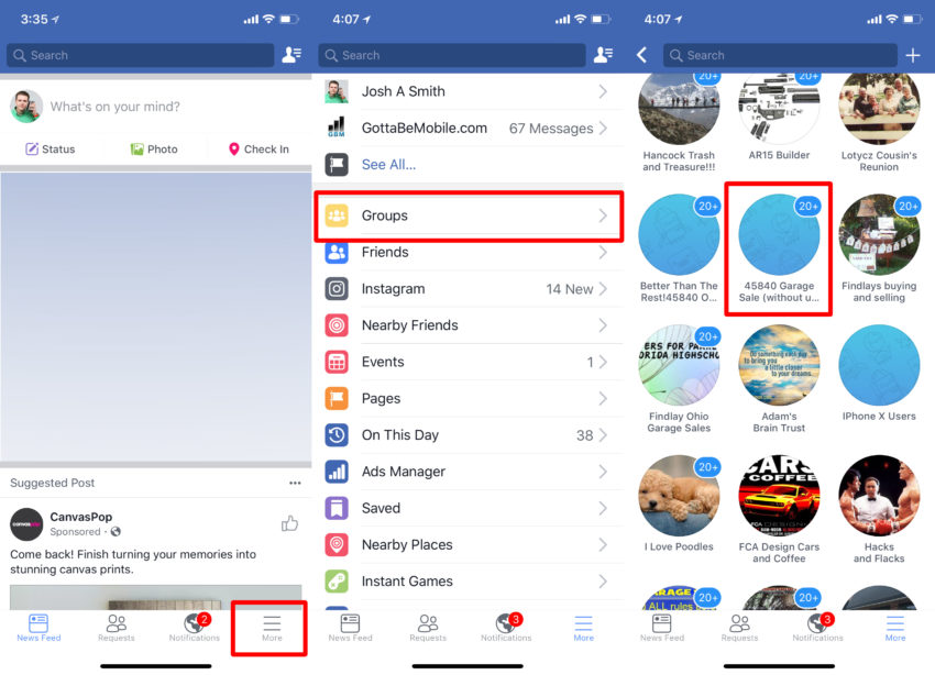 Turn off Facebook group notifications to save your sanity.