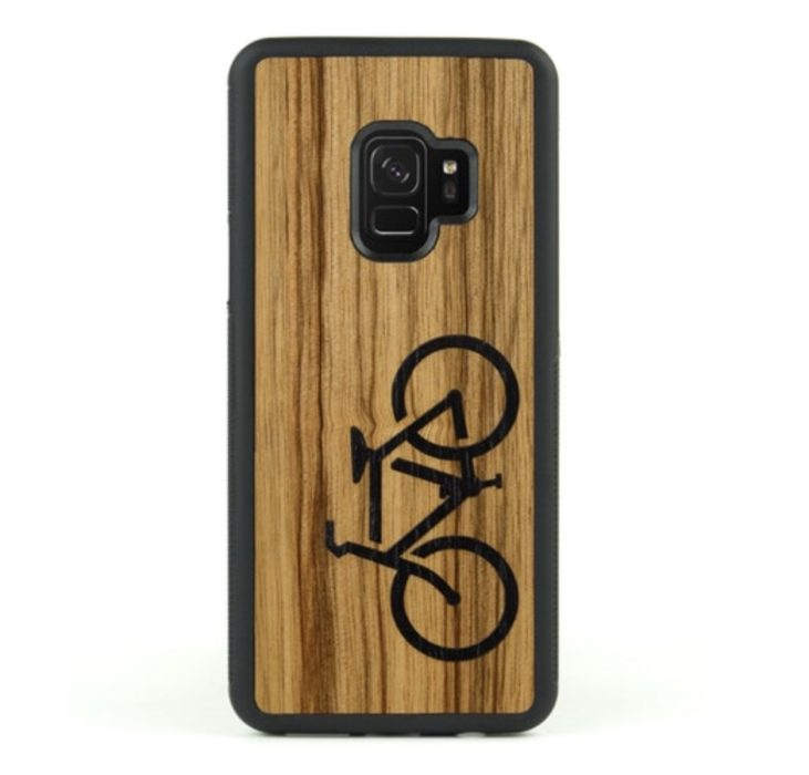 CARVED Real Wood Case