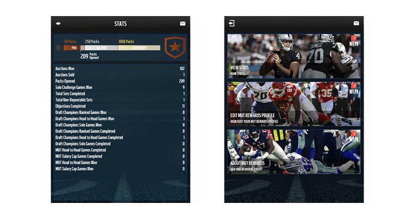 Madden Ultimate Team App