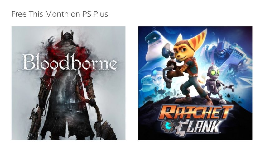 PlayStation Plus Offers Loads of Free Games