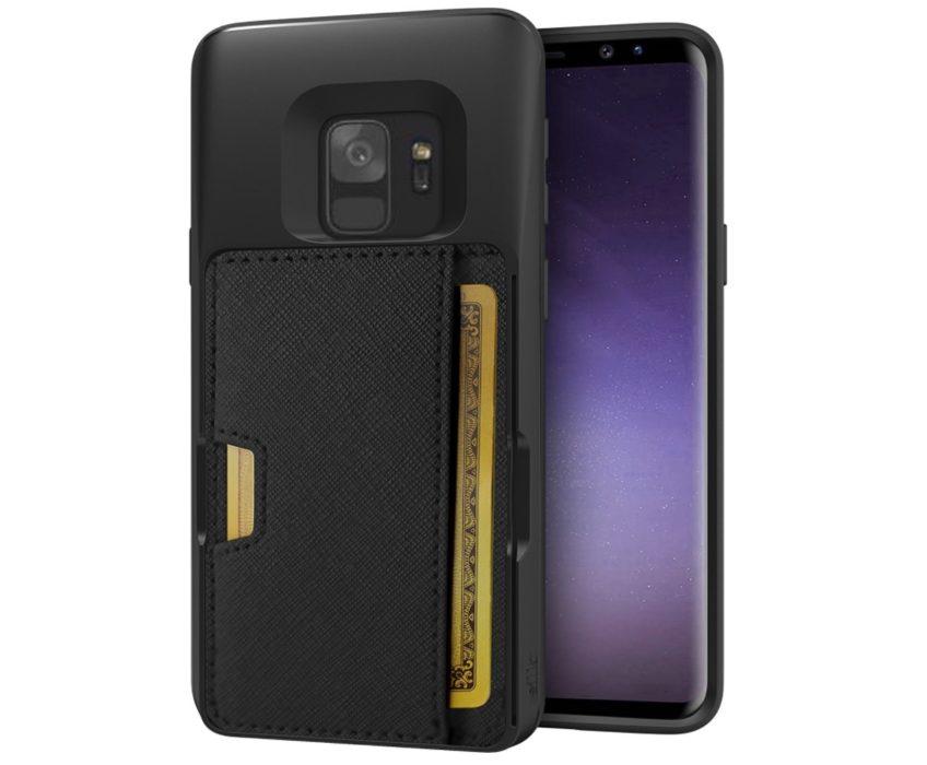 Silk Q-Card Wallet Case & Kickstand