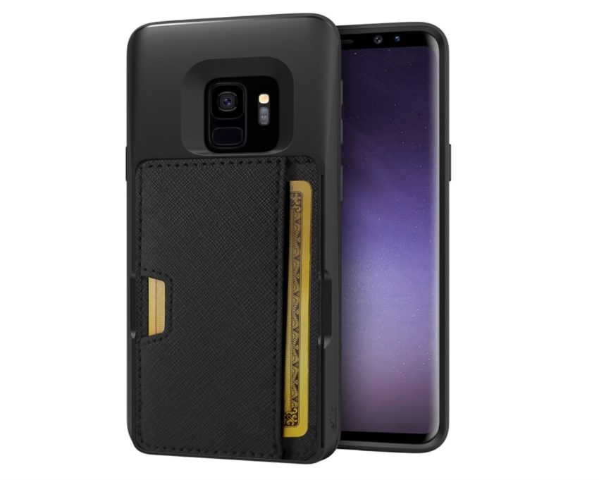 Silk Q-Card Slim Kickstand Wallet Case