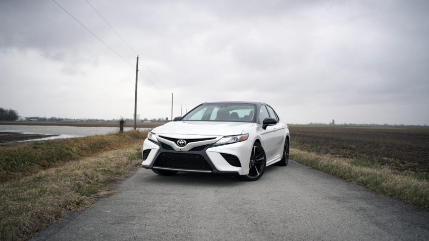 This is the all new Toyota Camry XSE.