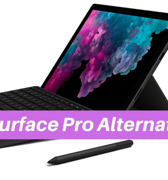 Here are the best Surface Pro alternatives with your best options to buy instead of the 2017 Surface Pro or the Surface Pro 6.