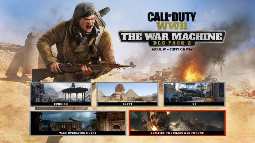 Call of Duty: WWII The War Machine Release Date
