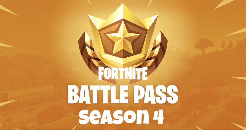 What you need to know about Fortnite Season 4 Battle Pass.