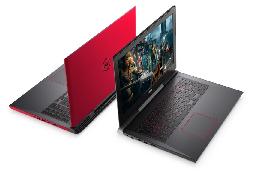 The new Dell G Series gaming laptops.