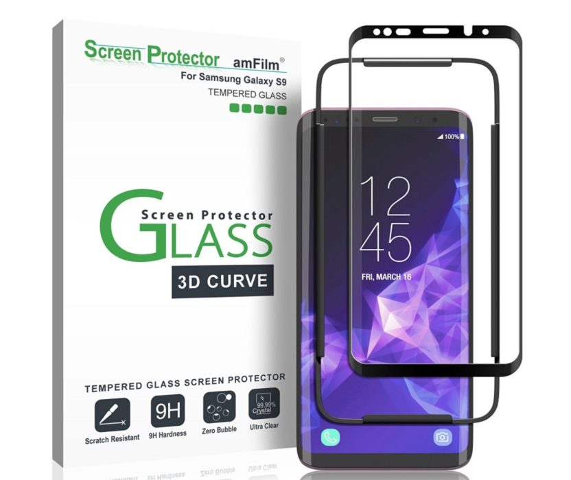 amFilm Tempered Glass Screen Protector ($13)
