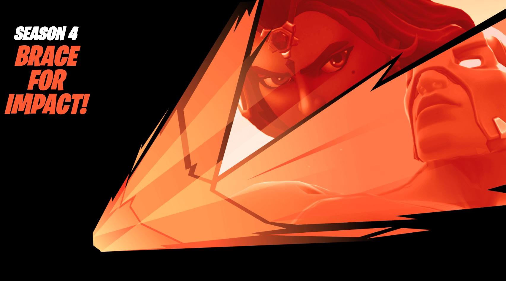 Prepare for impact as the new Fortnite Season 4 theme takes shape.