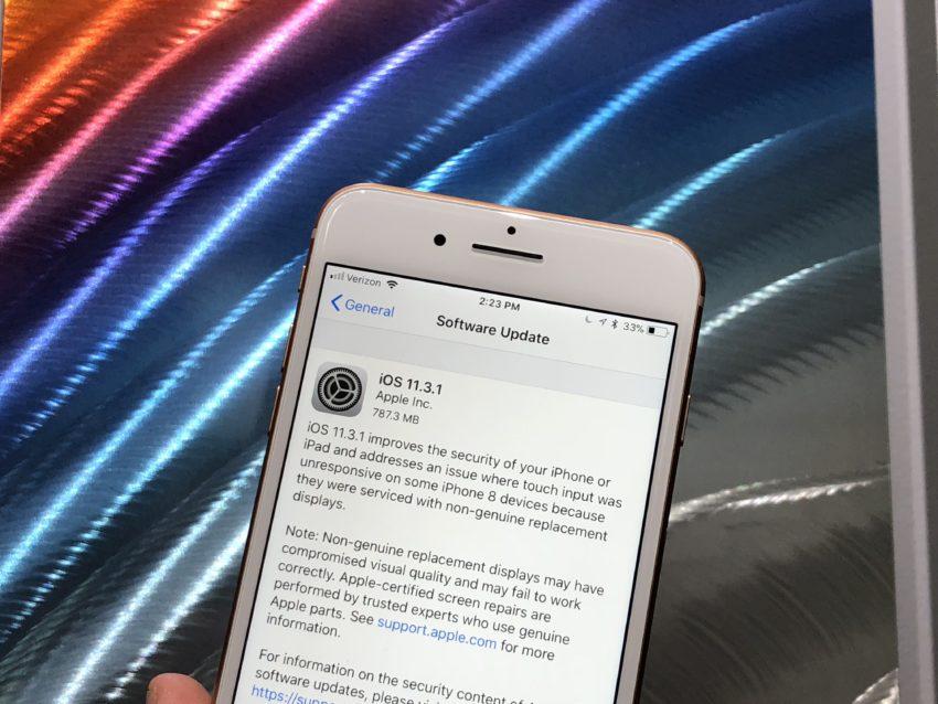 iPhone 8 iOS 11.3.1 Impressions