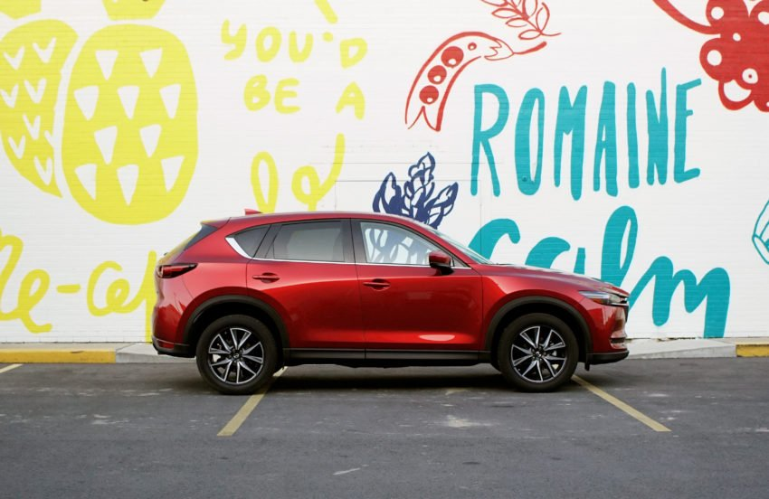 The Mazda CX-5 is a great SUV.
