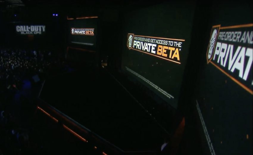 There is a Call of Duty: Black Ops 4 beta later this year.
