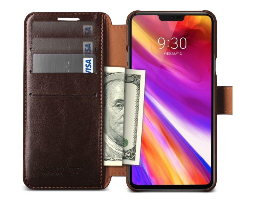 VRS Design Slim Leather Wallet Case