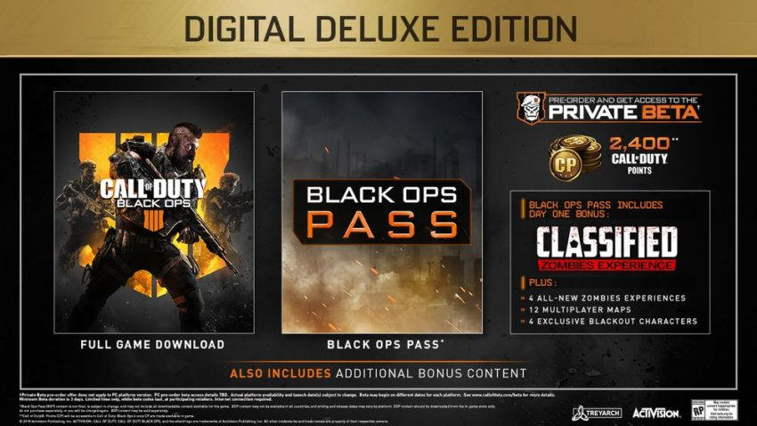 This is the best Black Ops 4 edition for many players.
