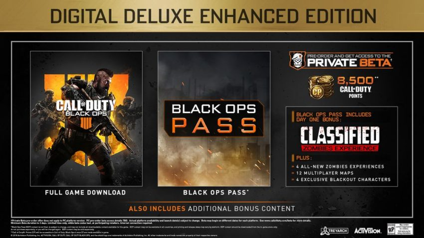 This is the version for Black Ops 4 players who love micro-transactions.