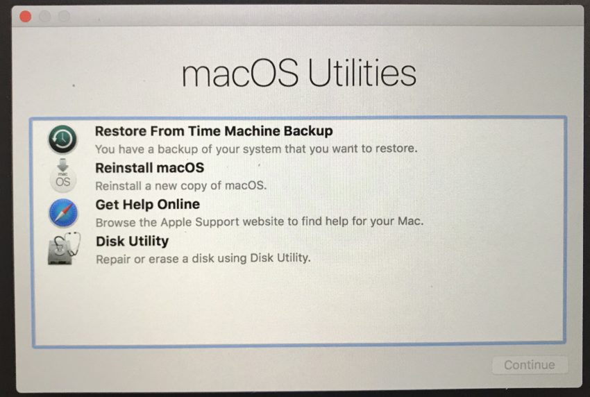 Downgrade from the macOS Mojave beta to macOS High Sierra.