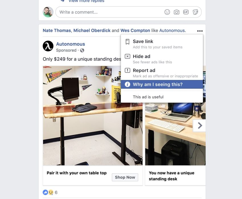 How to fix Facebook Ad problems.