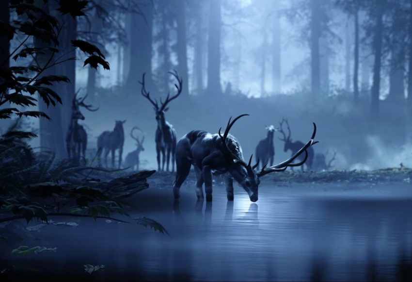 The deer are a clue to the Halo 6 story.