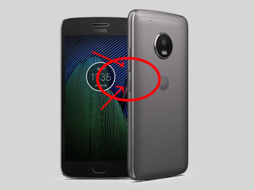 Screenshot Moto G5
