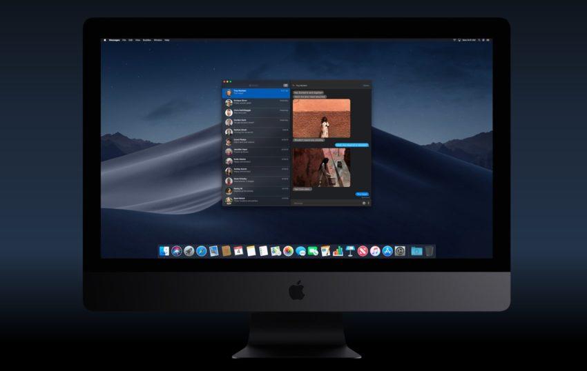 macOS Mojave Dark Mode
