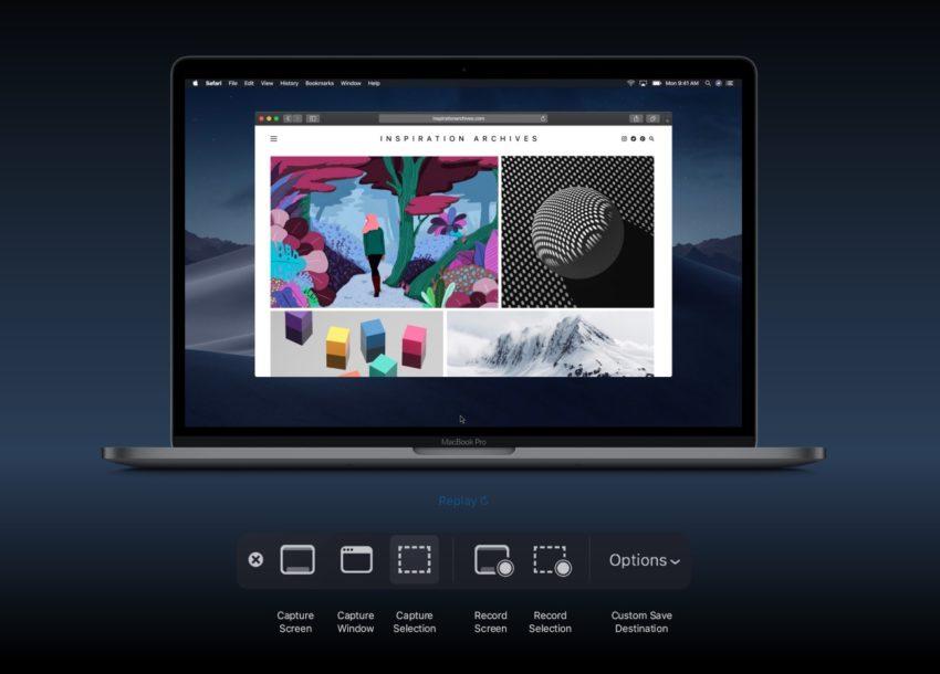 New macOS Mojave Screenshots Tool