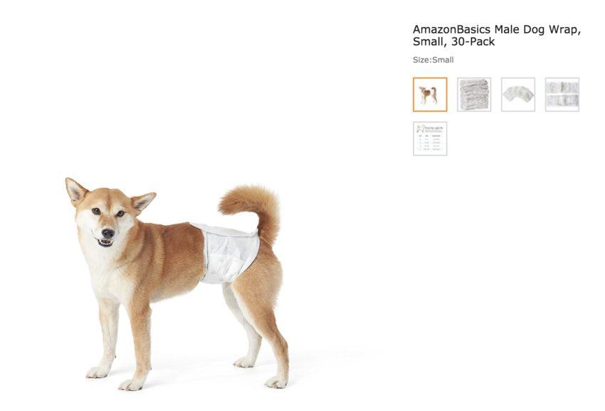 Amazon Basics Dog Diapers