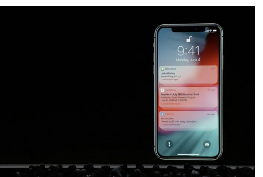 Upgraded Do Not Disturb in iOS 12