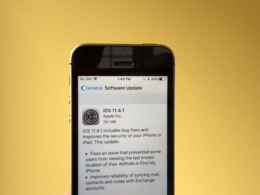 iPhone SE iOS 11.4.1 Impressions