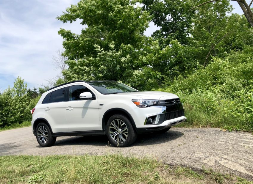 The Outlander Sport handles ok, with minimal body roll, but it's sluggish.