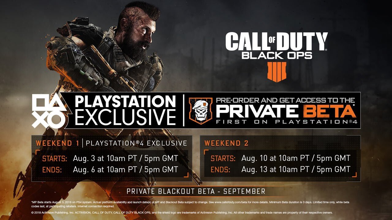 How To Sign Up For The Call Of Duty Black Ops 4 Blackout Beta