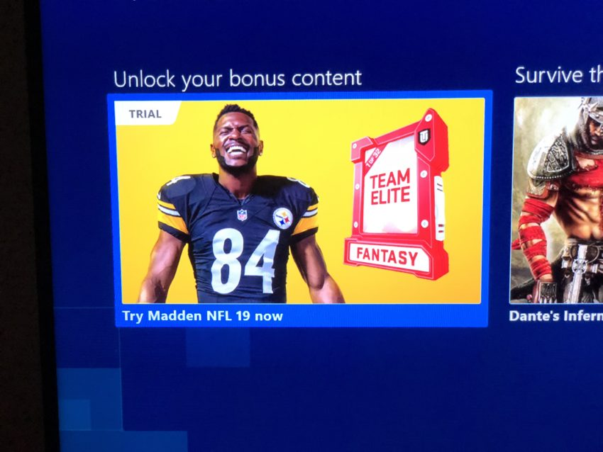 You can play Madden 19 now on Xbox One and PC.