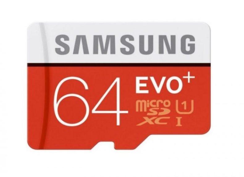 Samsung EVO+ 64GB MicroSD Card