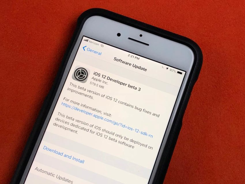Monitor Feedback from the iOS 12 Beta
