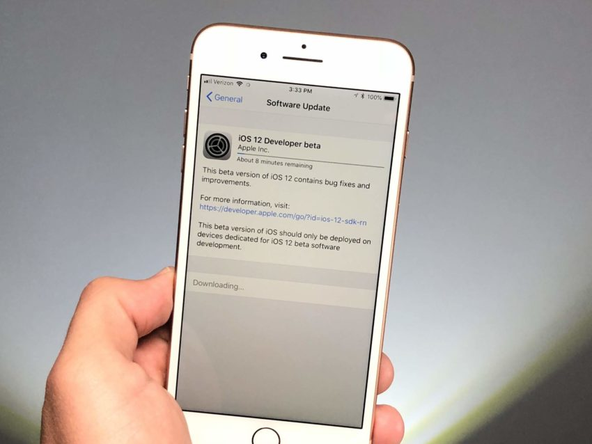 iOS 12 Beta Tips