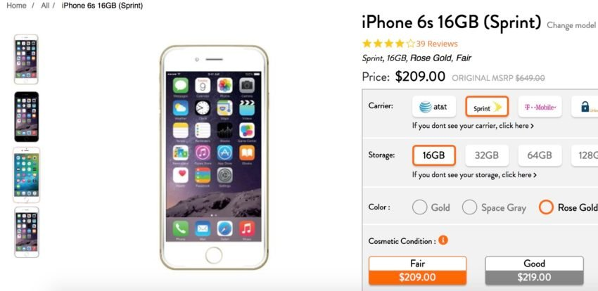 iPhone 6s (Used)