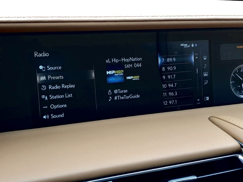 The Lexus Enform system doesn't cut it.