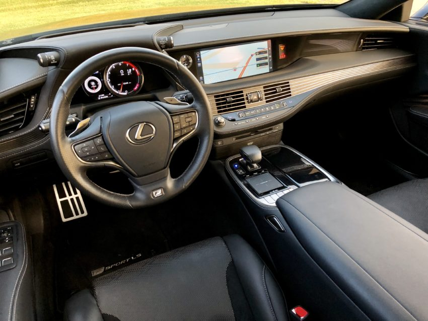 The interior is beautiful and comfortable.