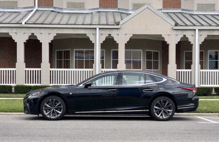 The 2018 Lexus LS 500 looks the role of a luxury sedan.