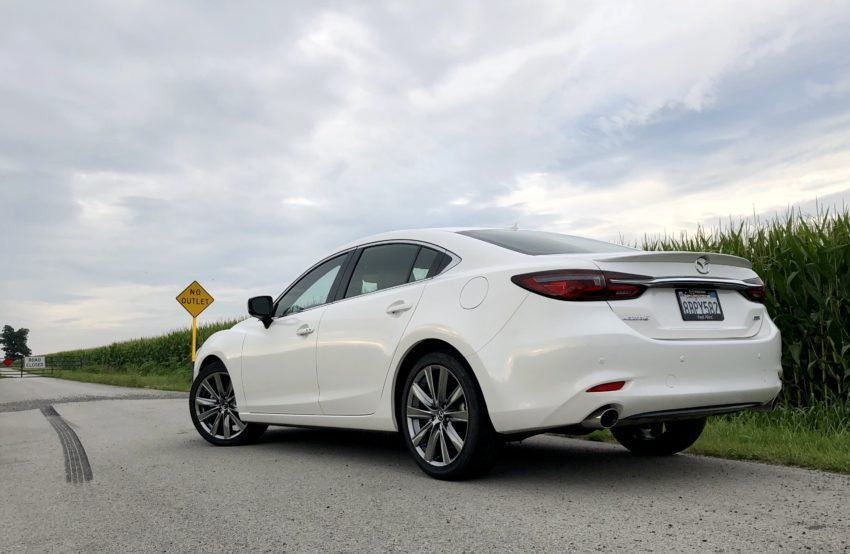 Mazda offers a great ride and excellent handling that combine to make this a fun car to drive.
