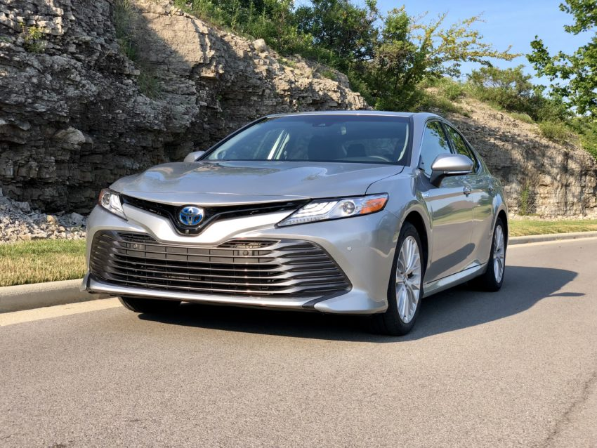 The 2018 Camry Hybrid looks more like an entry-level luxury brand.