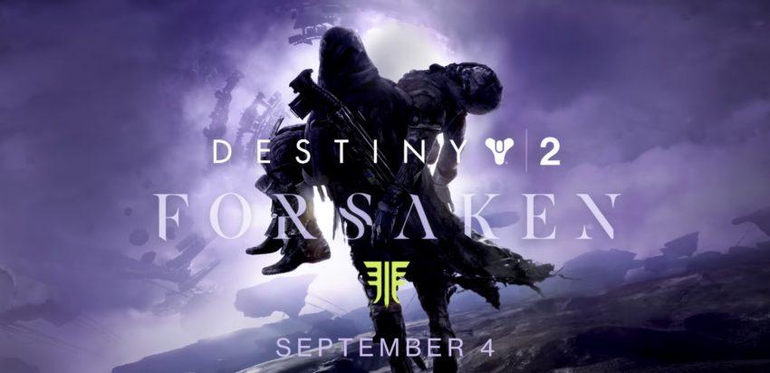 Play Destiny 2 Forsaken at 1 PM Eastern on September 4th.