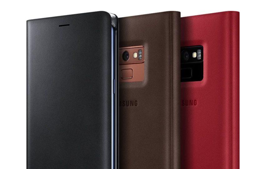 Samsung Premium Leather Wallet Case