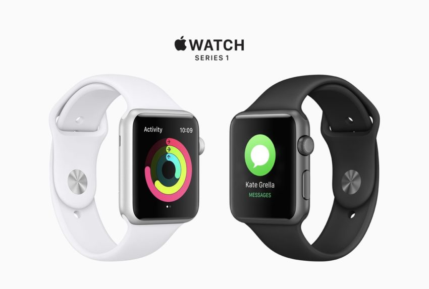 You shouldn't buy the Apple Watch series 1 in 2018.