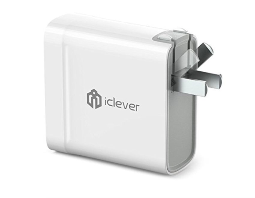 iClever BoostCube Dual Fast Travel Charger