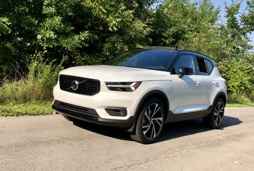 The XC40 is fun to drive, yet still comfortable and composed for long trips and running errands.