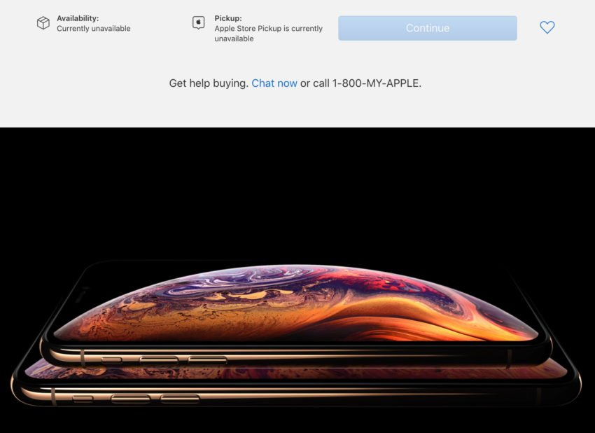Favorite the iPhone Xs Model You Want