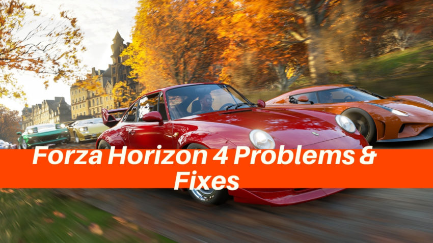 How to fix common Forza Horizon 4 problems, bugs and errors.