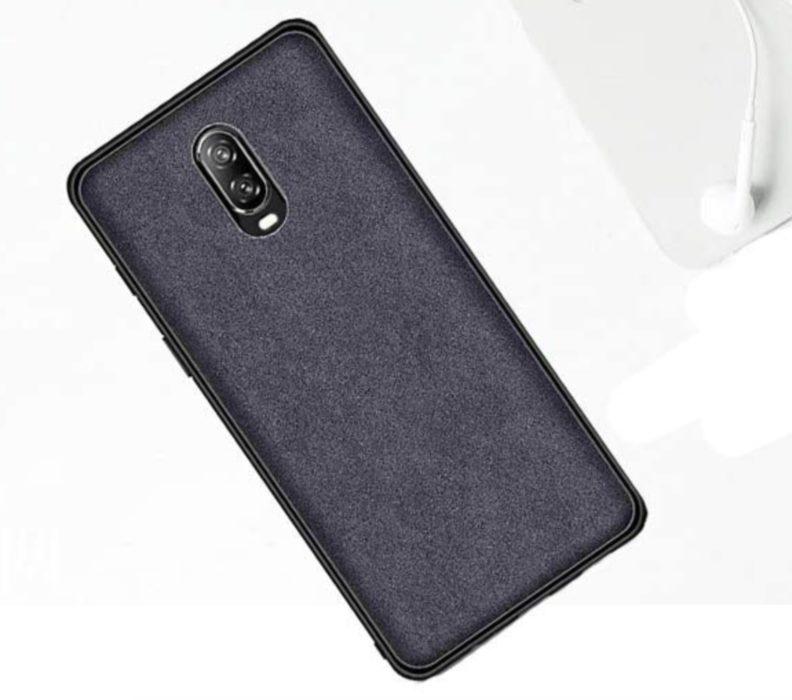Orzero Alcantara Fabric OnePlus 6T Case ($5)
